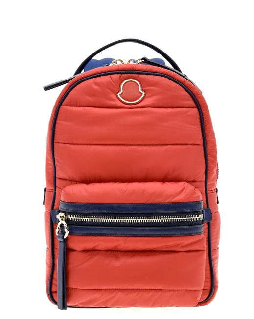 Item - New Georgette Quilted Red Nylon Backpack