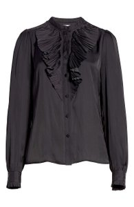FRAME Button Down Shirt black with tag
