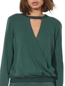 Lanston Sporty Edgy Casual Chic Night Out Sweater