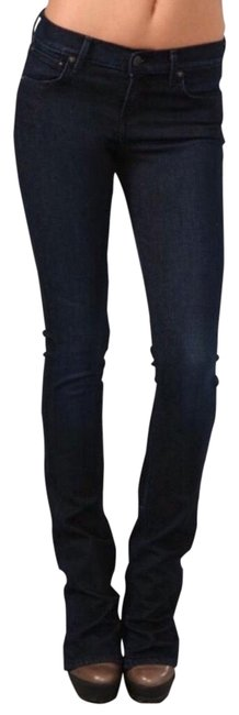 Item - Dark Wash Rinse Skinny Flare Boot Cut Jeans Size 6 (S, 28)