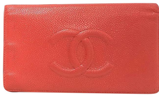 Item - Timeless Wallet Pink Leather Clutch