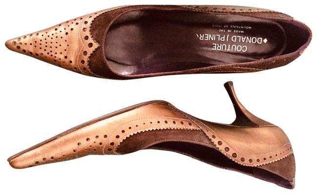 Item - Free Gift. Bronze and Chocolates Pumps Low Heel 9n. Platforms Size US 9 Narrow (Aa, N)