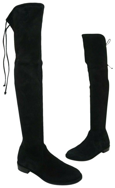 Item - Black Lowland Over The Knee Suede Boots/Booties Size US 8 Regular (M, B)