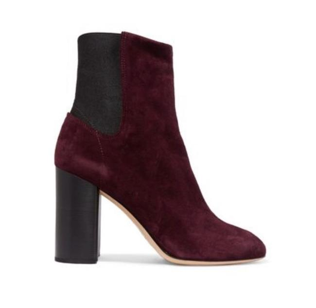 Item - Purple Agnes Burgundy Suede Chelsea Ankle Boots/Booties Size EU 38.5 (Approx. US 8.5) Regular (M, B)