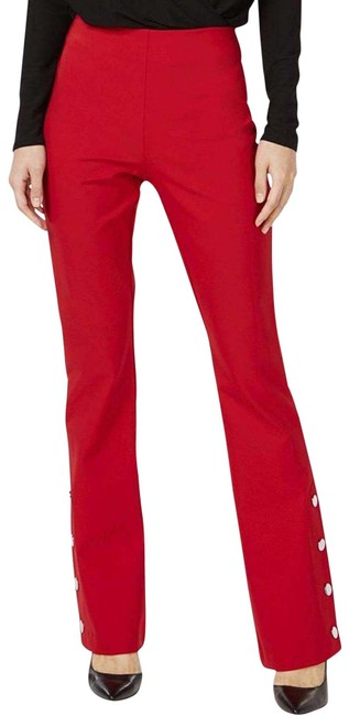 Item - Red Snap High Rise Pants Size 2 (XS, 26)