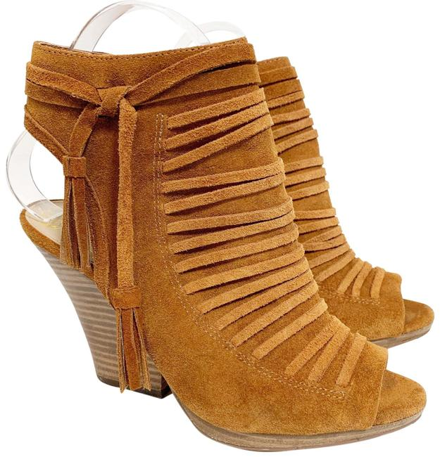 Item - Tan Jp-vanessa Wedges Size US 7.5 Regular (M, B)