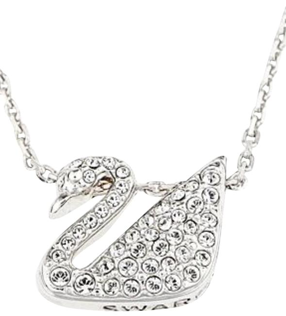 Item - Silver Swan Necklace