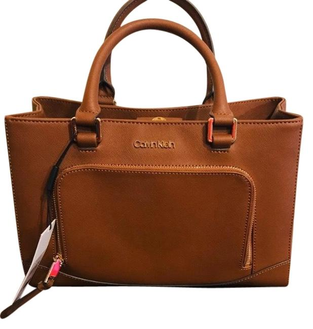 Item - Hudson Brown Leather Satchel