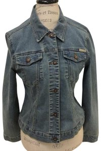 Max Jeans Denim Womens Jean Jacket
