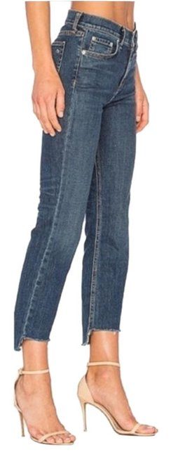 Item - Blue Ryan Crop 10 Inch Stove Skinny Jeans Size 31 (6, M)