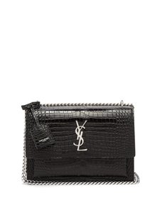 Saint Laurent Ysl Monogram Tapestry Cross Body Bag