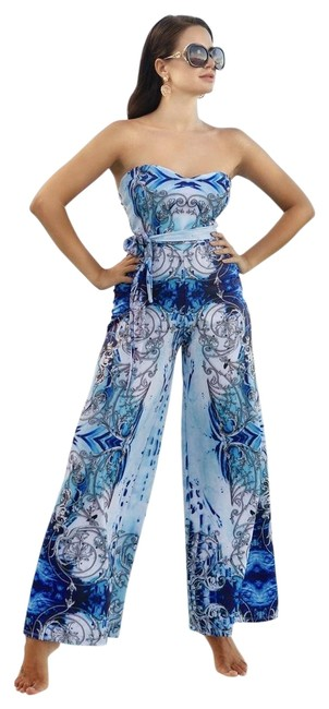 Item - Blue Coco Jumpsuit Cover-up/Sarong Size 4 (S)