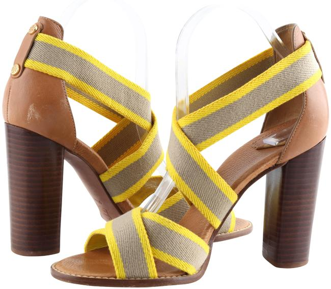 Item - Yellow Laurie Strappy Heel Sandals Size US 9.5 Regular (M, B)