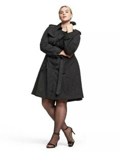 Altazurra for Target New Without Tags Plus Size 3x Textured Double Breasted Trench Coat