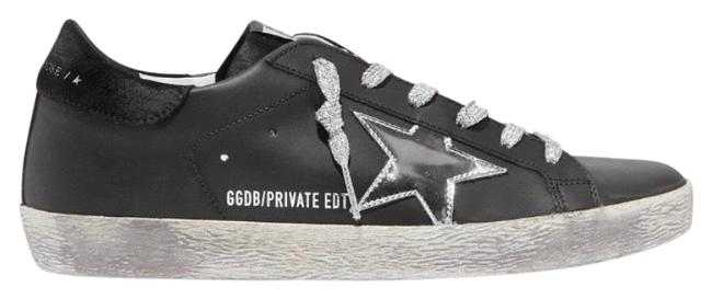 Golden Goose Deluxe Brand Black Superstar Distressed Leather Sneakers Size EU 42 (Approx. US 12) Regular (M, B) Golden Goose Deluxe Brand Black Superstar Distressed Leather Sneakers Size EU 42 (Approx. US 12) Regular (M, B) Image 1