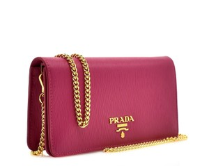 Prada Messenger Chain Wallet Cross Body Bag