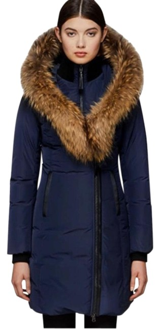 Item - Navy Kay Coat Size 2 (XS)