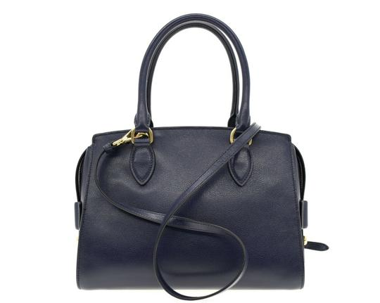 Prada Shoulder Satchel Handbag Top Handles Cross Body Bag Image 2