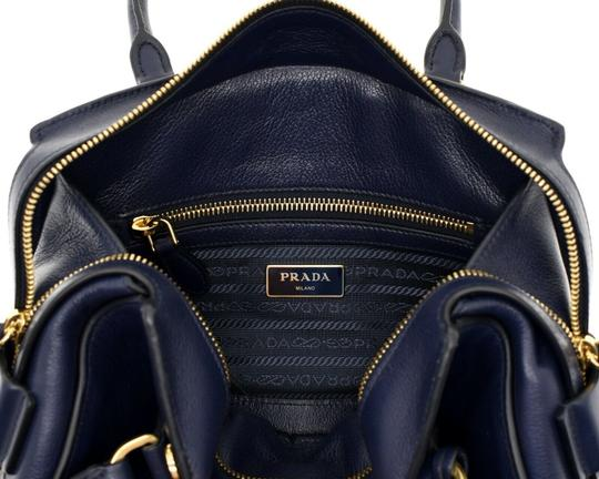 Prada Shoulder Satchel Handbag Top Handles Cross Body Bag Image 7
