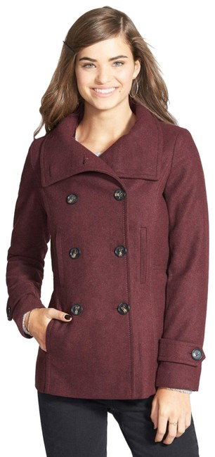 Item - Oxblood Thread and Supply Double Breasted Coat Size 8 (M)