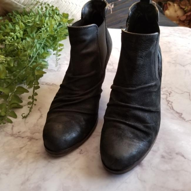 Paul Green Black Jano Leather Scrunch Chelsea Ankle Boots/Booties Size US 7 Regular (M, B) Paul Green Black Jano Leather Scrunch Chelsea Ankle Boots/Booties Size US 7 Regular (M, B) Image 3