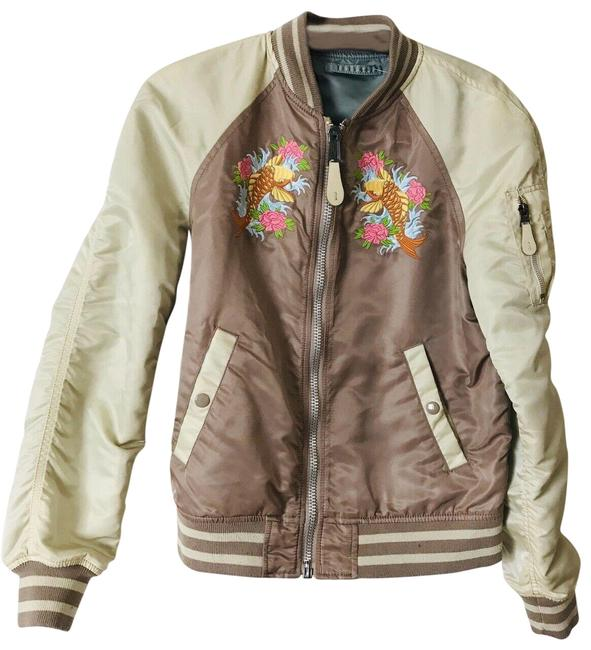 Item - Multicolor X Barneys Reversible Bomber Small Jacket Size 6 (S)