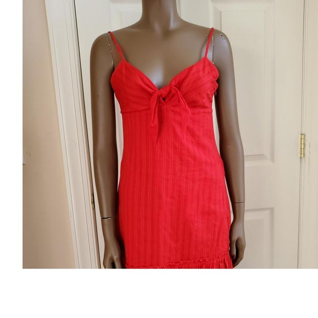 Item - Deep Red O Short Casual Dress Size 8 (M)