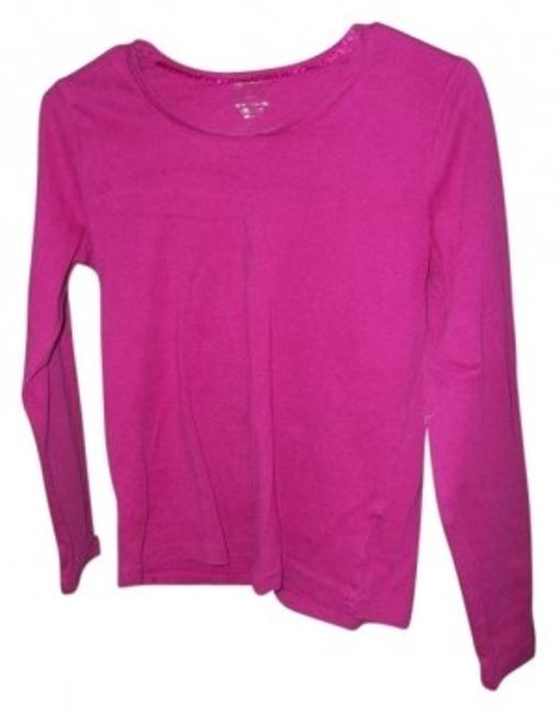 Preload https://item5.tradesy.com/images/white-stag-dark-pink-long-sleeve-shirt-tunic-size-8-m-26319-0-0.jpg?width=400&height=650