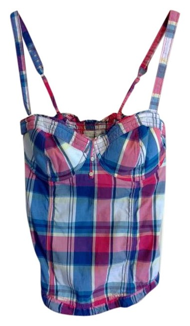 Preload https://img-static.tradesy.com/item/263197/abercrombie-and-fitch-plaid-pink-blue-white-tank-topcami-size-10-m-0-0-650-650.jpg