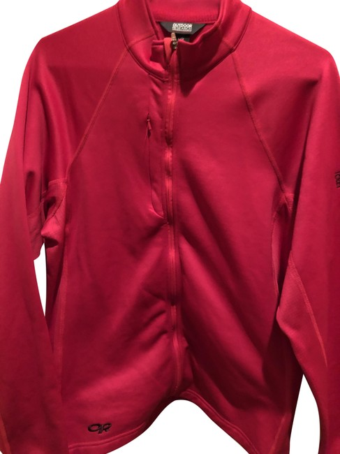 Item - Pink / Red XS Women's Radiant Lt Zip Top Purple Activewear Outerwear Size 12 (L)