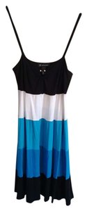 INC International Concepts short dress Black, Blue, and White on Tradesy