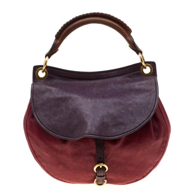 Item - Italy Red Leather Hobo Bag