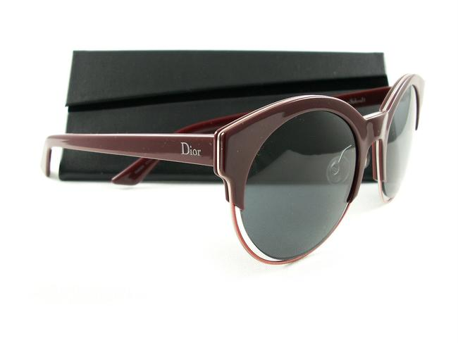 Item - Sideral 1 Rmdbn Red 53-21 145 Frame Grey Lenses Sunglasses