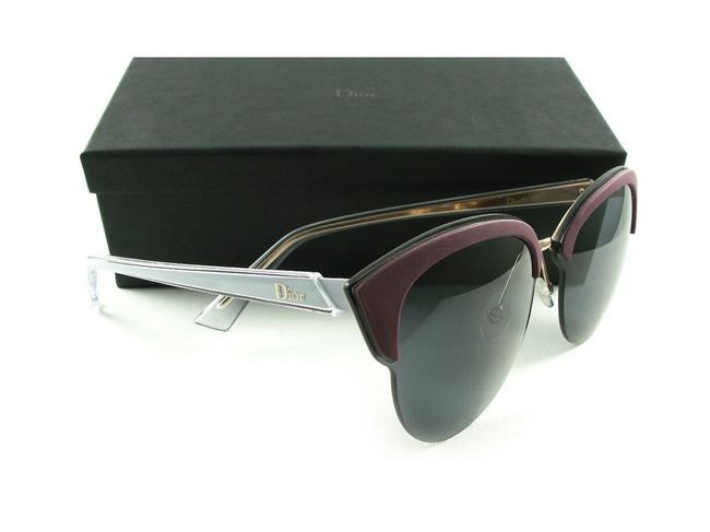 Item - Run Bofbn Gold Burgundy Blue 65-09 Copper Grey Lenses Sunglasses