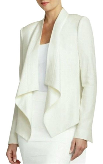 Preload https://img-static.tradesy.com/item/26321761/bcbgmaxazria-ivory-xsmall-abree-draped-front-jacket-off-white-blazer-size-2-xs-0-2-650-650.jpg