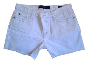 Jessica Simpson Cut Off Shorts White