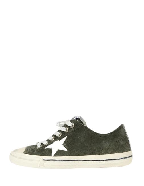Item - Grey Military Green Suede V-star Distressed Sneakers Size EU 41 (Approx. US 11) Regular (M, B)