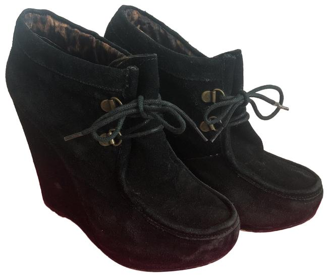 Item - Black Ryaan Suede Boots/Booties Size US 7.5 Regular (M, B)