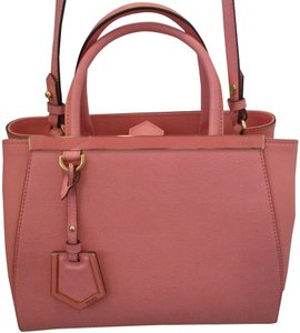 Fendi Petite Toujours Removable Strap Never Used Tote in Pink