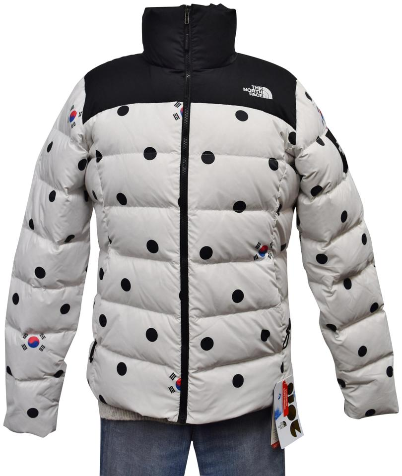 The North Face White W Flags Sold Out Korea Jacket Coat Size 4 (S)