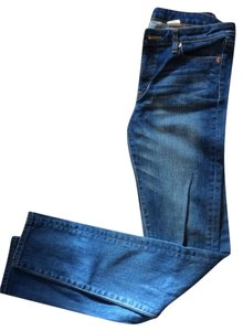 Uniqlo Straight Leg Jeans-Medium Wash