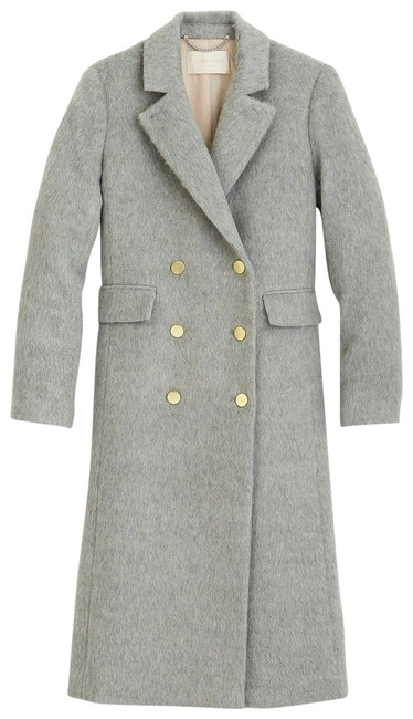Item - Gray Collection Ling Brushed Wool Coat Size 4 (S)