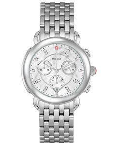 Michele Sidney Stainless Steel Mother Of Pearl Diamond MWW30A000015