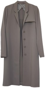 & Other Stories Raincoat Lightgrey Trench Coat