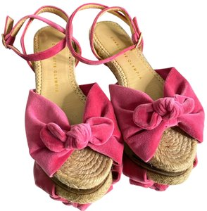 Charlotte Olympia Barbie Pink Sandals