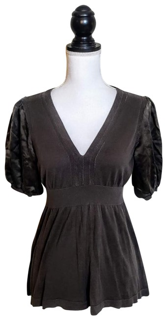 Item - Dark Green Silk Blouse Size 12 (L)