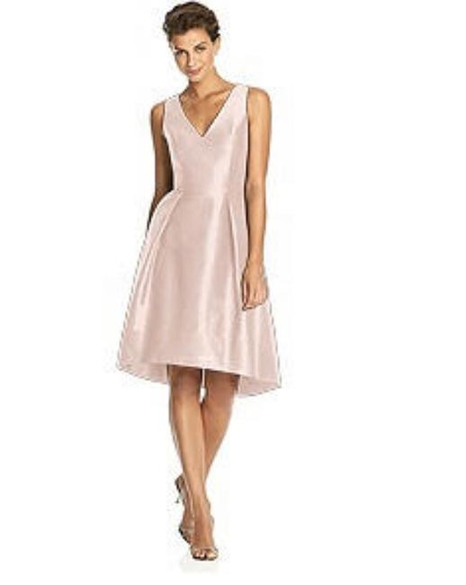 Item - Pearl Pink Dupioni D586 Traditional Bridesmaid/Mob Dress Size 18 (XL, Plus 0x)