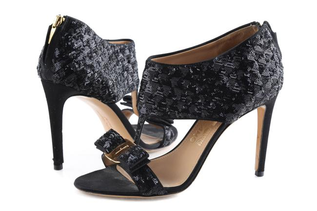 Item - Black Pella Sandals Pumps Size US 6.5 Regular (M, B)