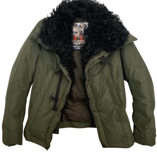 Item - Olive Misty Mountains Fur Lined Coat Size 0 (XS)