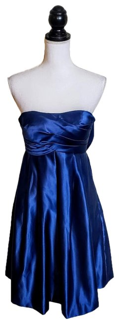 Item - Blue Cocktail Mid-length Formal Dress Size 0 (XS)